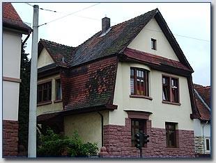 Denkmalgeschütztes Wohnhaus in Offenbach-Bürgel